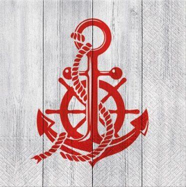 Dekorszalvéta - Anchor Style
