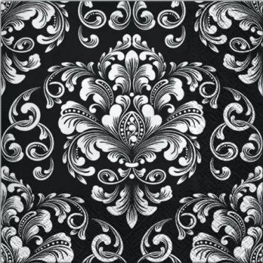 Dekorszalvéta - Beautiful Moments Black