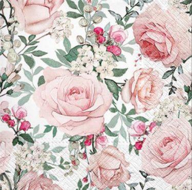 Dekorszalvéta - Gorgeous Roses