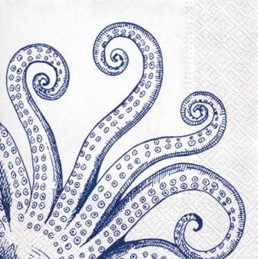 Dekorszalvéta - Octopus