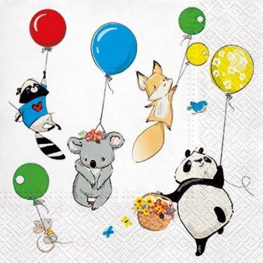 Dekorszalvéta - Animals Party