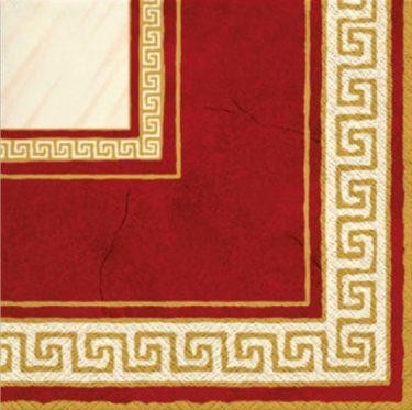 Dekorszalvéta - TaT Athena Dark Red