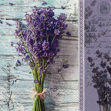 Dekorszalvéta - TaT Lavender Bouquet