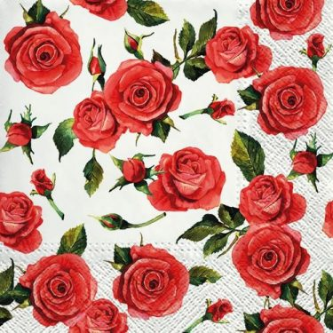 Dekorszalvéta - Rosy Style