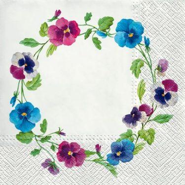 Dekorszalvéta - Pancy Wreath