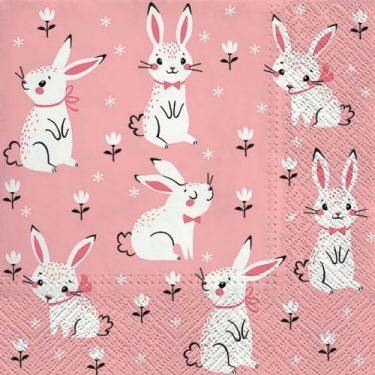 Dekorszalvéta - Field of Rabbits