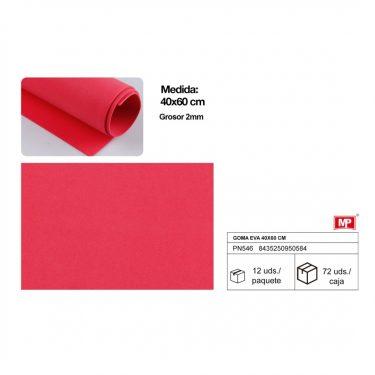 Dekorgumi Piros 40x60 cm