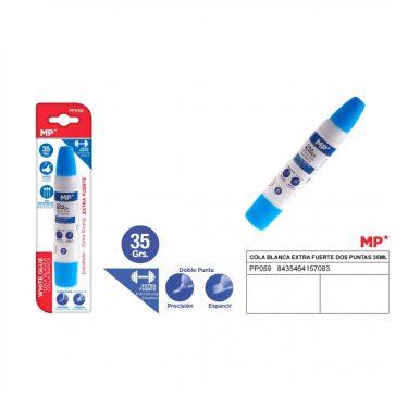 MP Extra erős fehér ragasztó kétféle ragasztófejjel 35 g