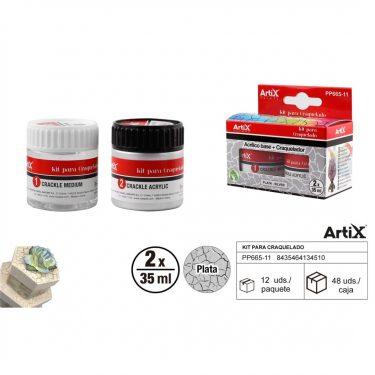 Artix Repesztőlakk készlet Ezüst 2x35 ml