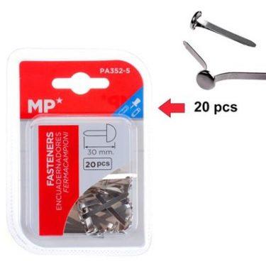 MP Miltonkapocs Ezüst 30 mm 20 db/cs