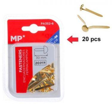 MP Miltonkapocs Arany 30 mm 20 db/cs