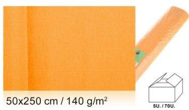 MP Vastag krepp-papír Narancssárga 50x250 cm