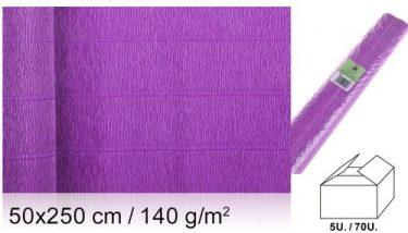 MP Vastag krepp-papír Ibolya 50x250 cm