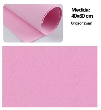 Dekorgumi Rózsaszín 40x60 cm
