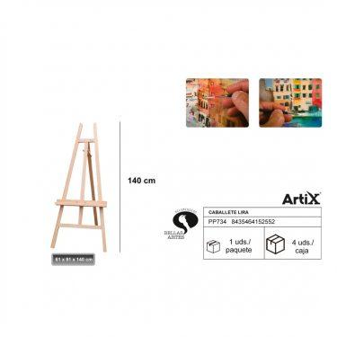 Artix Festőállvány 61x91x140 cm
