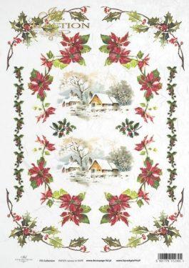 Karácsonyi rizspapír - ITD R446